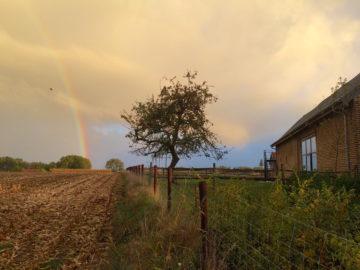 Eyndevelde vakantiewoningen onder de regenboog