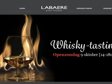Whisky-tasting in Zottegem, op 10 min van Eyndevelde
